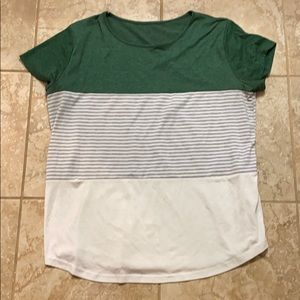 Multiple colored slouch short sleeve t-shirt